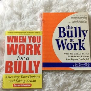 Anti-Bully In The Workplace Books